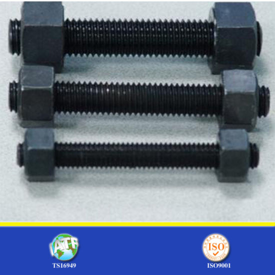 Coarse Thread Fine Thread Unc Unf Thread Hex Bolt and Nut pictures & photos