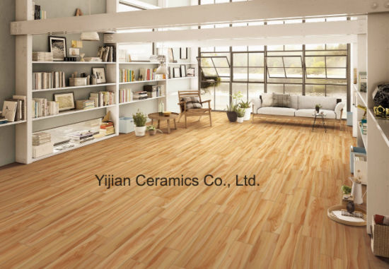 Good Design Wood Look Tile in Size 150*800mm (L158F11)