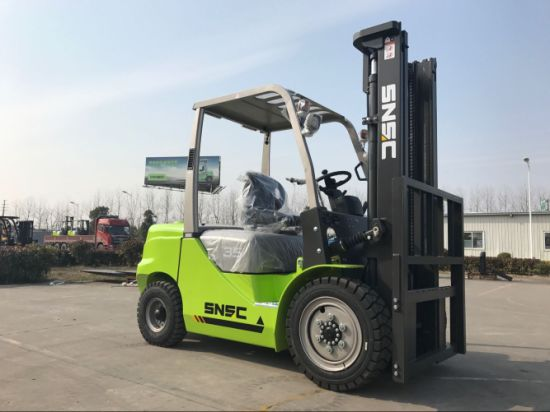 Snsc 3.5t Diesel Forklift to Salvador pictures & photos
