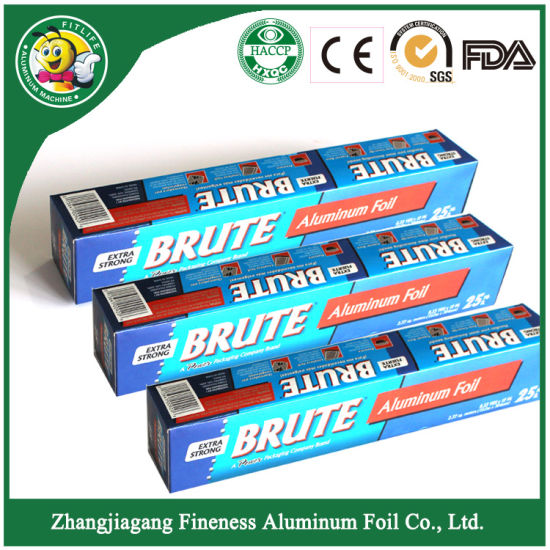 Household Food Packaging Aluminium Foil pictures & photos