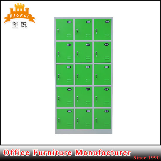 Luoyang Kd Structure Steel 15 Door Locker pictures & photos