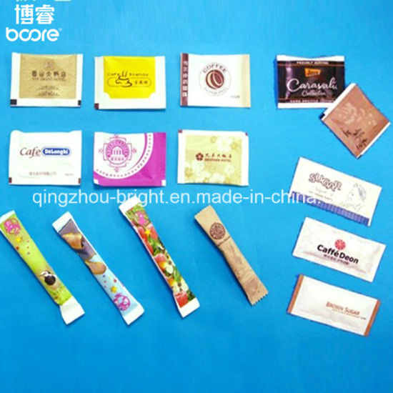 China Factory PE Coated Food packaging Paper for Wholesale 2g Salt Sachet for Airline