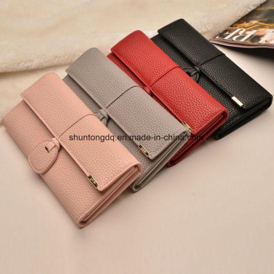 New Design Leather Wallets Women Luxury Purses Woman Wallet Long Hasp Female Purse Card Holder Clutch Feminina Carteira
