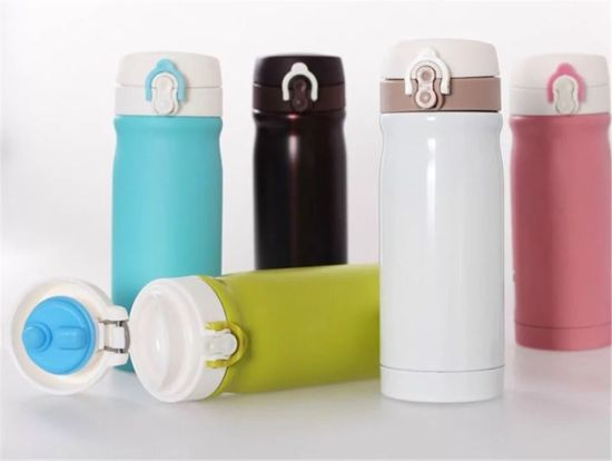 500ml Double Wall Stainless Steel Vacuum Thermos Flask Water Bottles pictures & photos