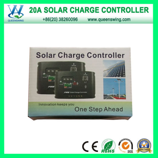 Hot Auto12V/24V 20A LED Digital PWM Solar Charge Controller (QWP-1420SLC) pictures & photos