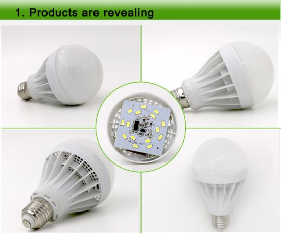 3W 5W 7W 9W 12W B22 E27 E14 Remote Control Rechargeable LED Bulb Light PC+Aluminum 3000k/6500k pictures & photos