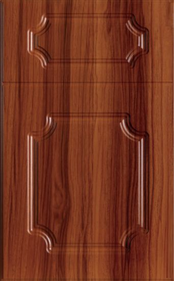 China Wooden Grain Color Mdf Cabinet Door China Cabinet Door