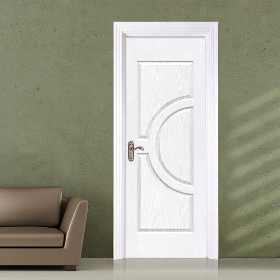 China HDF Molded Interior Frame Laminated Veneer PVC Door (JHK-S01 ...