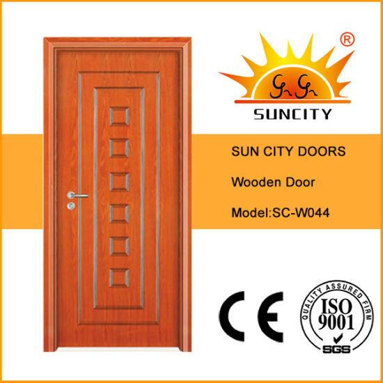 Good Sales Single Internal Flush Wood Room Doors (SC-W044)
