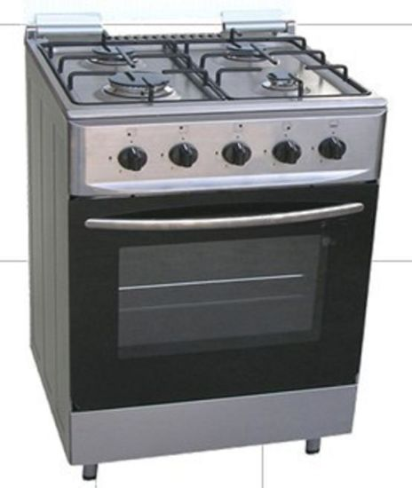 4 Gas Burners Free Standing Gas Cooker with Oven