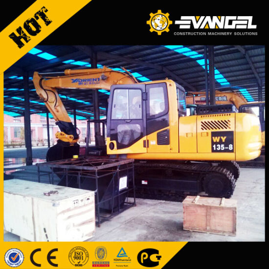 13 Ton Hydraulic Crawler Excavator Wy135-8 pictures & photos