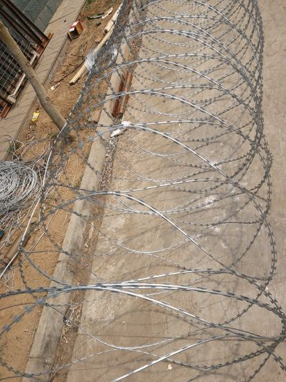 China High Quality Cross Type Razor Barbed Wire Fence - China Razor