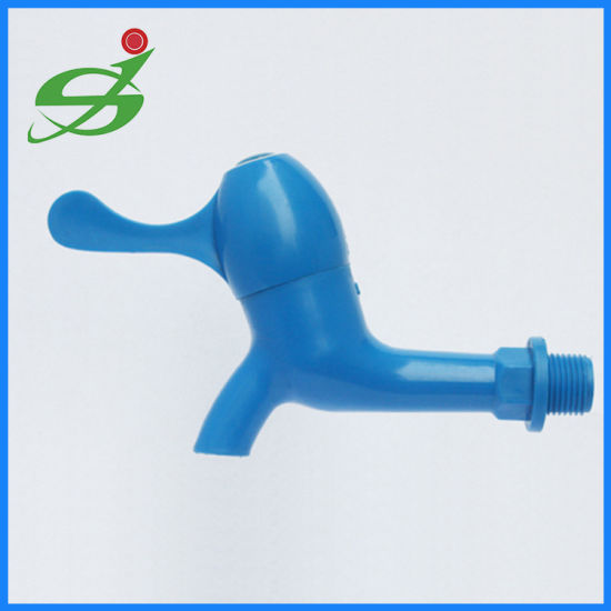 Plastic PP/ PVC Basin Faucet with Long Boday pictures & photos