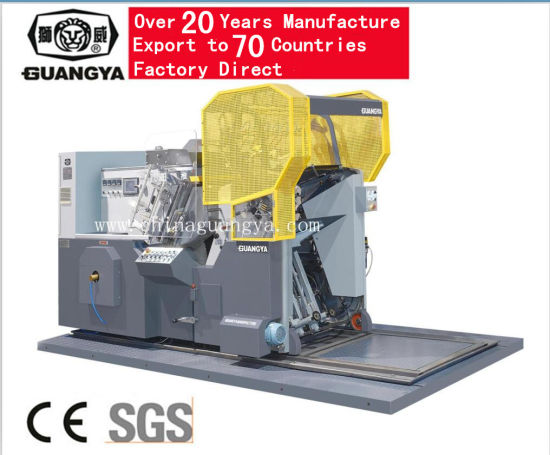 High Quality Automatic Foil Stamping and Die Cutting Machine (TL780) pictures & photos