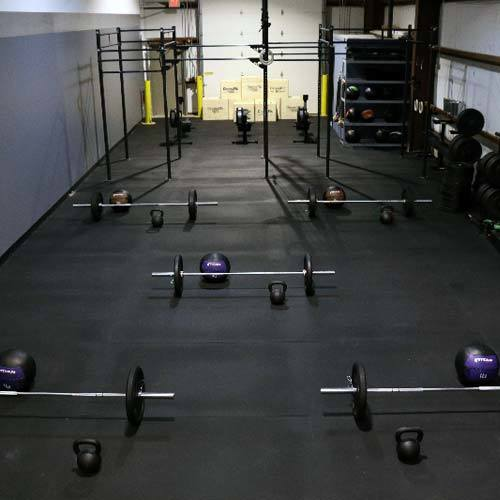 Fitness Room Rubber Gym Flooring