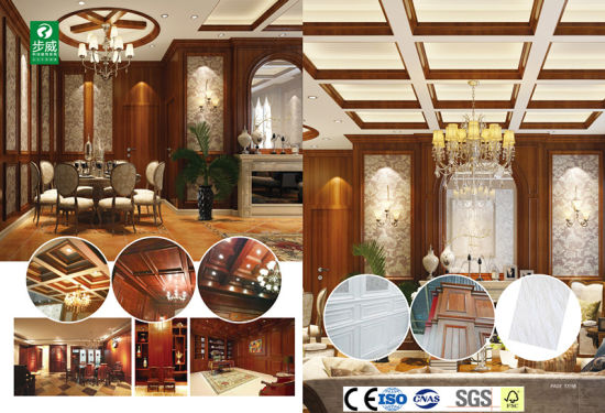 2017 Hot Sell for Indoor Decorative WPC PVC Wall Panel and Ceiling