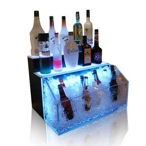 Stylish LED Wine Cabinet, Pop Acrylic Display Rack pictures & photos