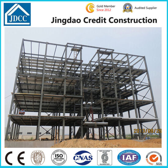 Low Cost Five Storey Steel Structure Building pictures & photos