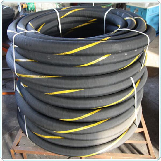 China Manufacture 3 Inch Rubber Flexible Water Discharge Suction Hose 20bar