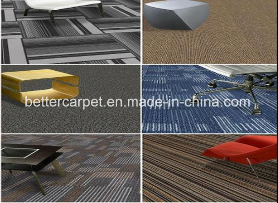 Decorative Commercial Hotel Home Office PP Nylon Carpet Tiles