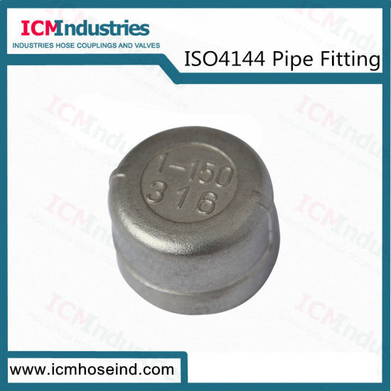 Stainless Steel Round Cap Threaded Fittings