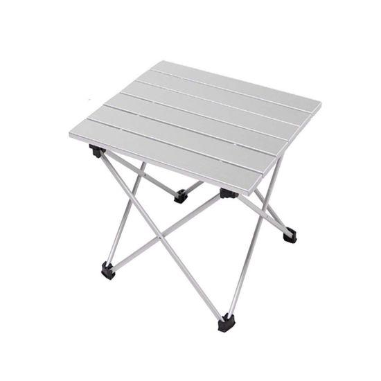 Portable Folding Aluminum Camping Picnic Dining Table