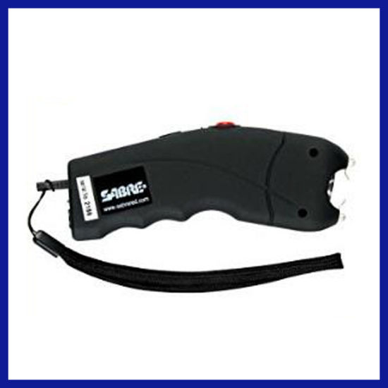 Portable Police Stun Gun Taser with LED Flashlight for Self Defense (SYSG-610)