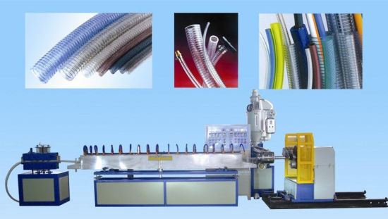 PVC Steel Wire Reinforced Pipe Hose Production Line Making Machine