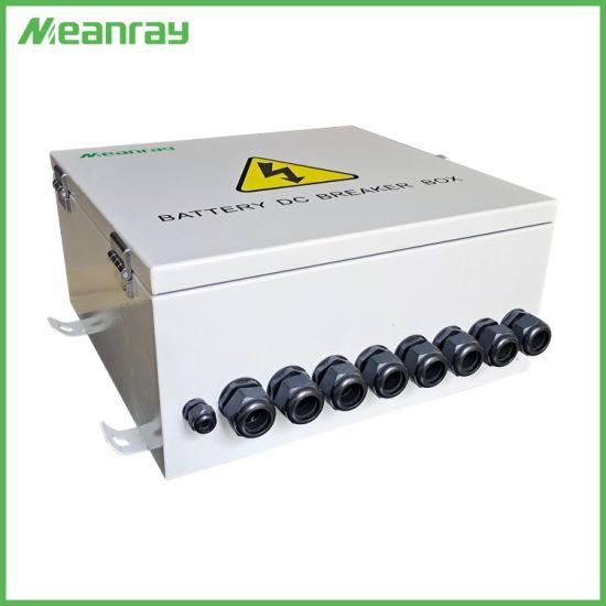 Battery DC Breaker Box IP 65 Waterproof Breaker Box DC MCCB Box