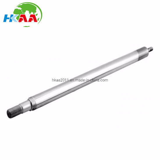 CNC Machining Hard Chrome Plating Hydraulic Piston Rods for Truck Tipping Systems pictures & photos