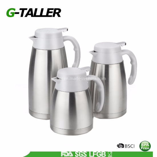 2000 Ml Double Wall Tea and Coffee Kettle