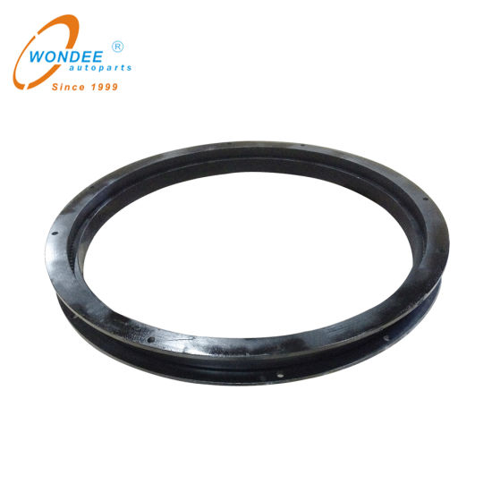 Auto Parts Jost Type Slewing Ring Ball Bearing Casting Turntable for Full Trailer
