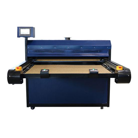 Label Bd Sublimation Tshirt Printing Pneumatic Heat Press Transfer Machine