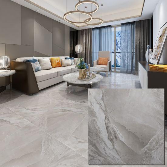 Isla Distributors Grey Floor Designs Gray and White Porcelain Tile