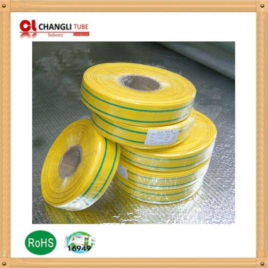 Yellow // Green EARTH 2:1 Heat Shrink Tubing Electrical Sleeving Heatshrink