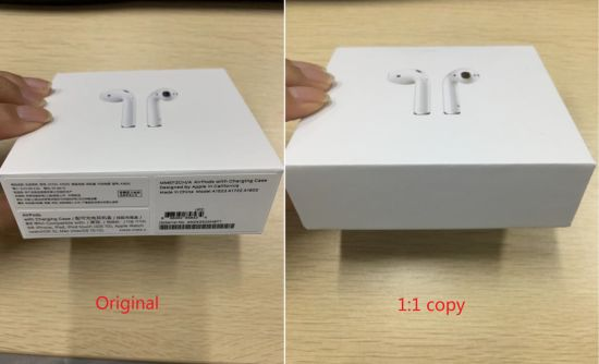 airpods 2 box real