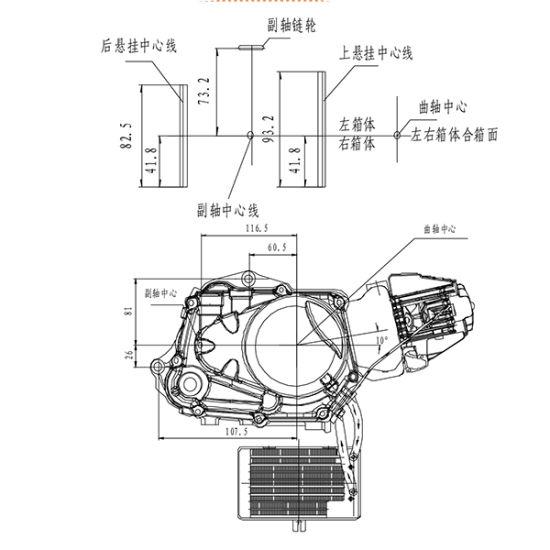 Yingxiang Yx Z1 Dirt Bike 150cc 160 Cc 4 Stroke Engine on