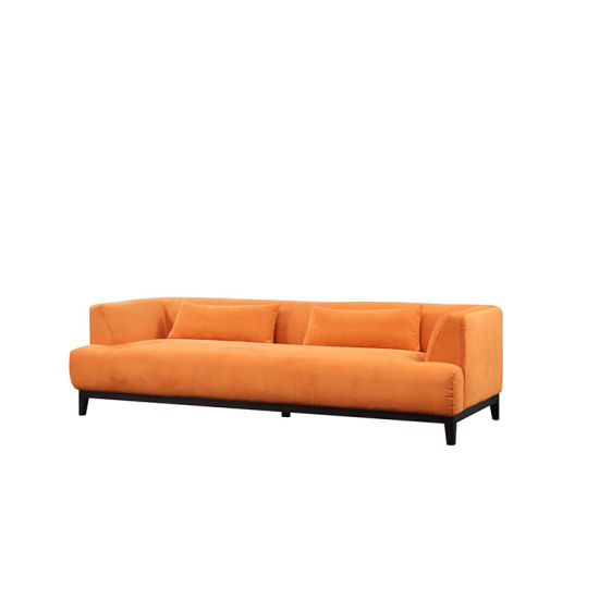 Tremendous China Velvet Small Comfortable Sofa Bed With Armrest China Machost Co Dining Chair Design Ideas Machostcouk