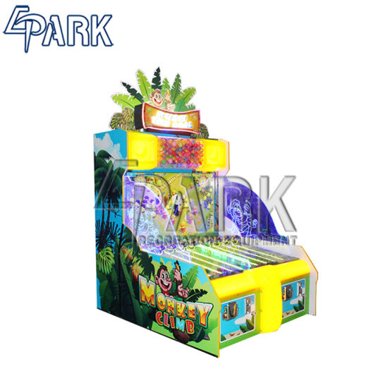 Indoor Games Hitting The Screen Kids Pushing Ball Video Games 2 Players Arcade Tickets Game Machine