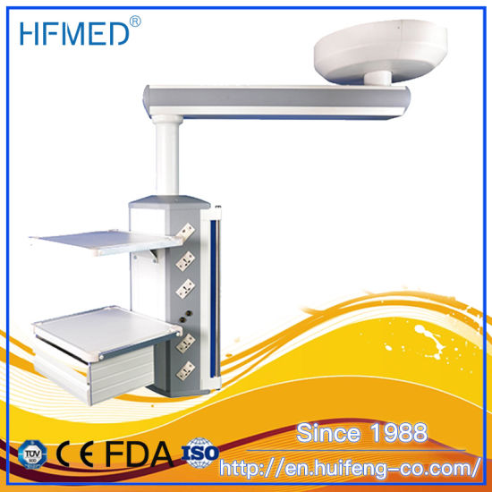 Single Arm Ot Room Wall Ceiling Mounted Medical Surgical Pendant Distributor