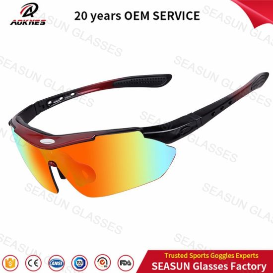 China Wholesale High Quality Hunting Yellow Night Vision Driving Glasses Outdoor Sports Cycling Sunglasses