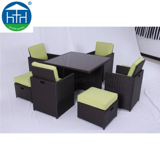 High Quality Wicker Outdoor Furniture Set Dining Table And Chair Garden Patio Setting China Garden Rattan Table Outdoor Dining Set Made In China Com