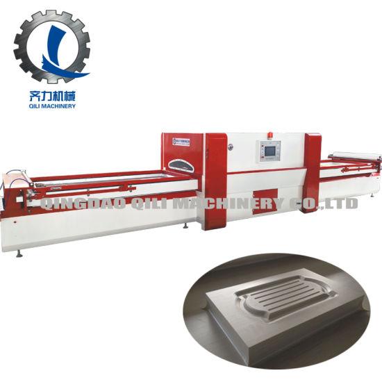 Automatic PVC Vacuum Laminating / Membrane Press Machine for Furniture Manufacturing
