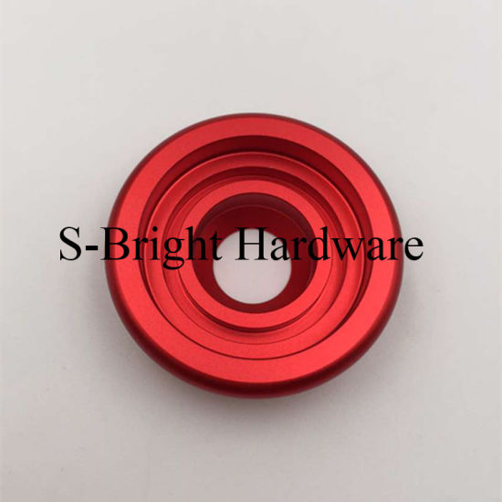 Anodized Aluminium Al5052 CNC Machined 360degree Rotating Stand Cell Phone Mount Bracket for Car (F-254)