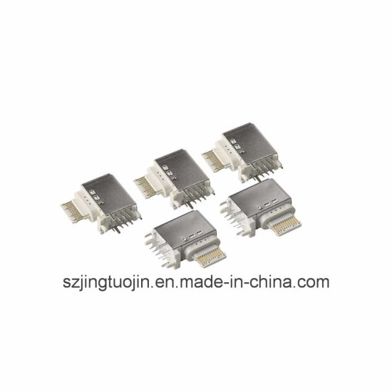 Side Vertical DIP-16 Pin USB Type C 3.1 Connector