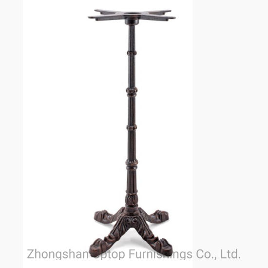 Antique High Bar Dining Table Base