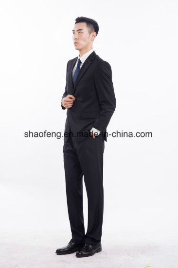 High Quality Men&Prime S Fit Classic 2front-Button Formal Business Wedding Suits