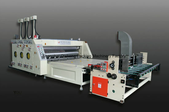 Stable Performance Automatic Feeding Printing and Slotting Carton Making Machine