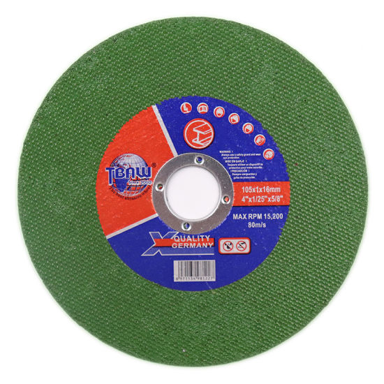 Factory 4 Inch High Shapness Abrasive Cutting Wheel for Metal Cutting