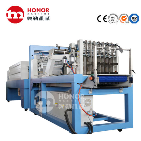 The Full-Automatic PE Film Beverage/Pure Water/Carbonated Liquid Shrink Film Packaging Machine Sold by Our Factory